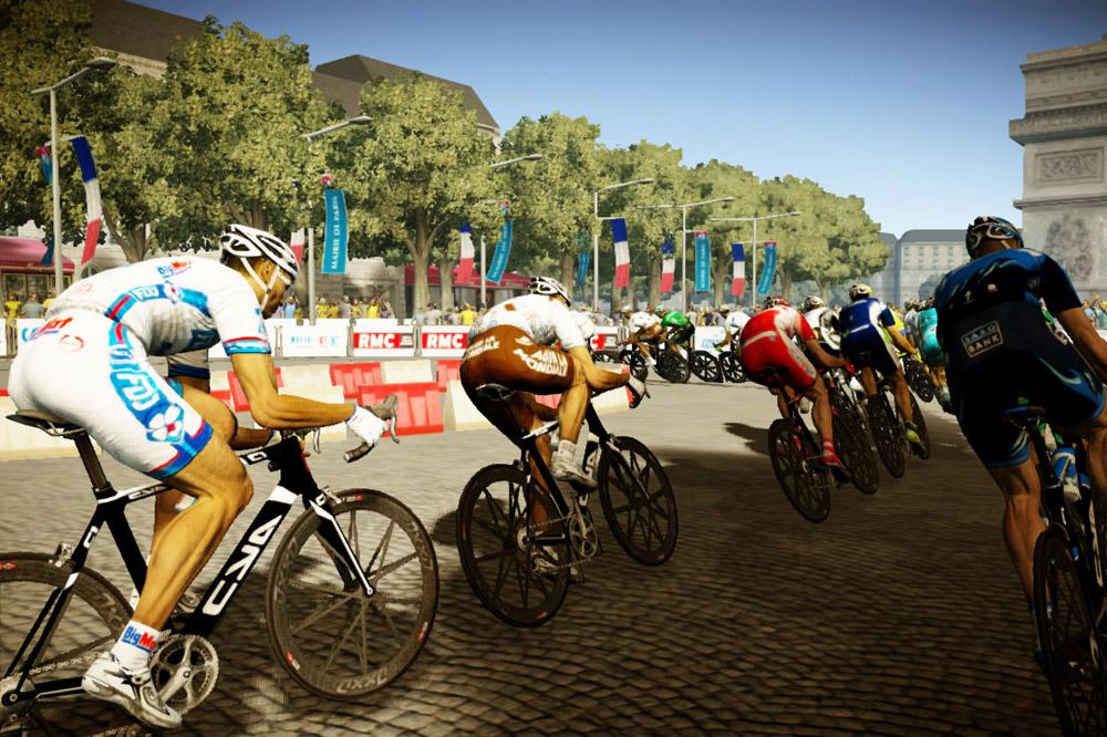 Les Champs-Elysées pour conclure le Tour de France 2012