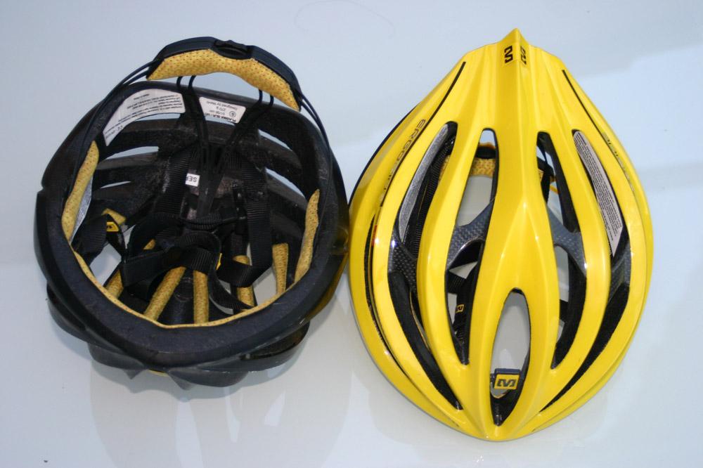 Compact, racé et sécuritaire, le casque Mavic SLR se veut séduisant