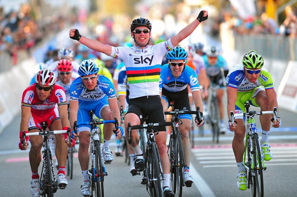 Personne ne passe Mark Cavendish au sprint
