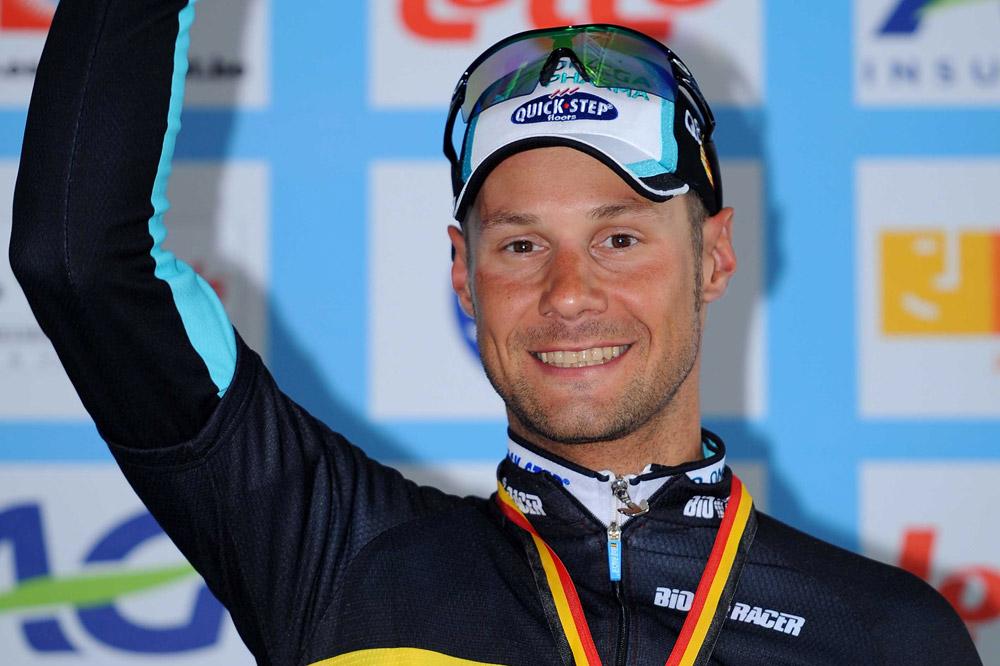 Tom Boonen est le champion des Belges
