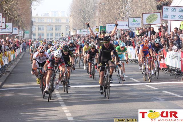 Benoit Drujon est le plus rapide au sprint