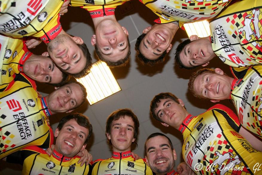 Les coureurs DN3 de l'UC Orléans