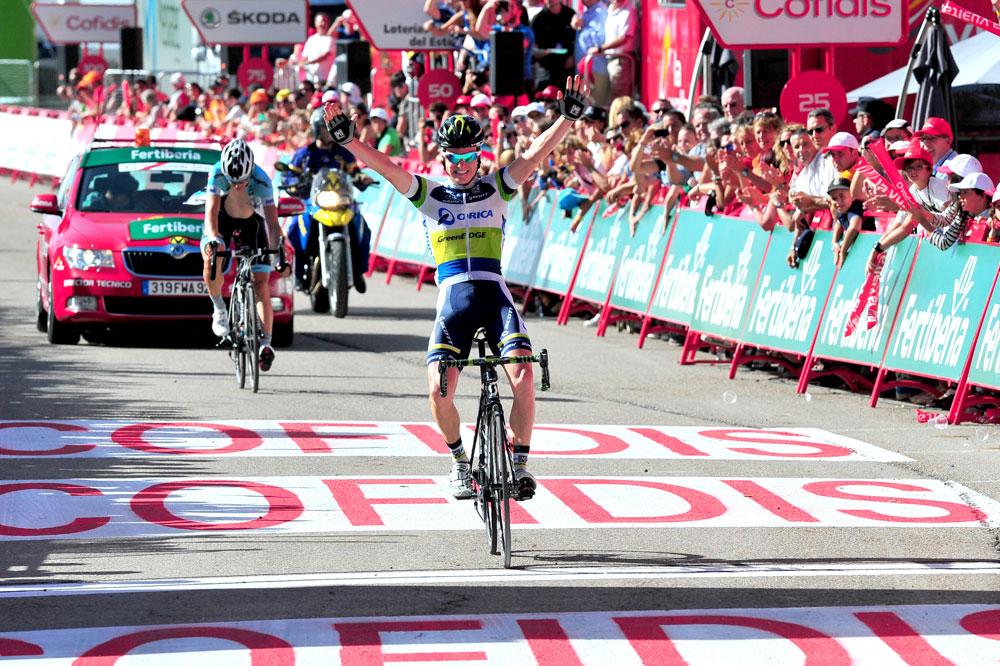 Simon Clarke remporte la plus belle victoire de sa carrière à Valdezcaray