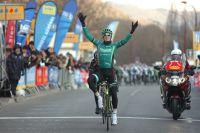 Pierre Rolland retrouve le succès à Bessèges, six mois après sa victoire à l'Alpe d'Huez