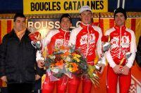 Tir groupé des Vendée U aux Boucles Catalanes : Bryan Coquard, Romain Guillemois et Pierre-Henri Lecuisinier