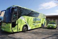 Le bus Liquigas-Cannondale