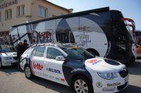 Le bus Lotto-Belisol