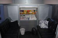 L'arrière du bus RadioShack-Nissan (