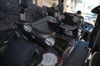 Les sièges à l'avant du bus