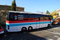 Le bus du Team RadioShack-Nissan