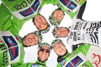 La formation du Brest Iroise Cyclisme 2000
