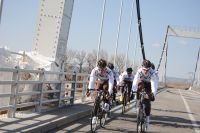 Le Chambéry Cyclisme Formation s'entraîne