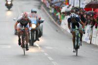 La victoire se joue au sprint entre Florian Vachon et Mirko Selvaggi