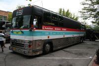 Au Colorado, l'équipe RadioShack-Nissan utilise un bus d'un autre genre