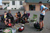 Les Bontrager-Livestrong se préparent avant la course