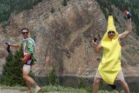 Les supporters américains ont la banane !