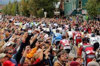 Extrêmement chaleureux, le public américain vibre pour le Tour du Colorado