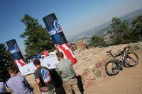 Décor exceptionnel pour les héros du Tour du Colorado