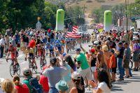 Entre Golden et Boulder, le public s'est rassemblé en masse