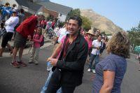 L'acteur Patrick Dempsey est de passage sur le Tour du Colorado