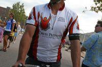 Le maillot de la Davis Phinney Foundation, consacrée à la maladie de Parkinson