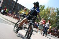 La police américaine pratique aussi le cyclisme