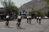 Le Team Type 1-Sanofi Aventis en repérage dans les rues de Durango