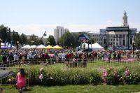Il y a foule au coeur de Denver pour la dernière étape du Tour du Colorado