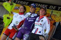 Le podium des féminines espoirs
