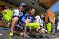 Julie Bresset, Cécile Ravanel et Laura Metzler