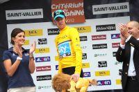Bradley Wiggins déjà en jaune sur le Dauphiné