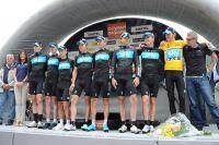 Surpuissante équipe Sky au Dauphiné