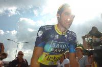 Sur l'Eneco Tour, Alberto Contador est sous le feu des projecteurs