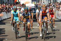 Alberto Contador finit dans un petit groupe de retardés