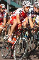 Martin Kohler arbore son maillot de champion de Suisse