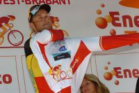 Tom Boonen troque son maillot de champion national contre celui de leader de l'Eneco Tour