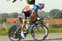 Sylvain Chavanel termine 6ème du chrono
