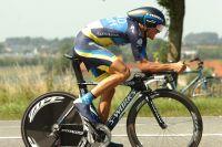 Alberto Contador optimise son aérodynamisme