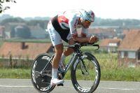 Tom Boonen souffre sur le chrono de l'Eneco Tour