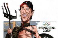 Spartacus dans l'arène olympique
