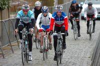 Sylvain Chavanel prépare le Tour des Flandres avec Niki Terpstra