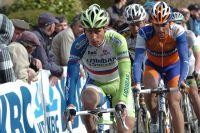 Peter Sagan amoché après sa chute dans la Flèche Brabançonne