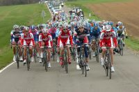 En direction de Huy, le Team Katusha veut y croire, Joaquim Rodriguez à gauche attend son moment