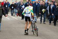 Nicolas Legras victime d'un souci mécanique au moment du départ
