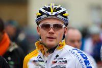 Arnaud Jouffroy dispute la course avec les Elites