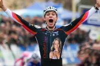 Aurélien Duval laisse exploser sa joie, il est champion de France !