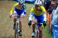 Etienne Briard et Loïc Doubey se battent pour la onzième place
