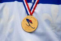 La médaille d'or tant convoitée...