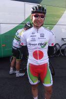 Fumiyuki Beppu et son maillot de champion national du Japon
