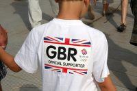 Un jeune supporter britannique